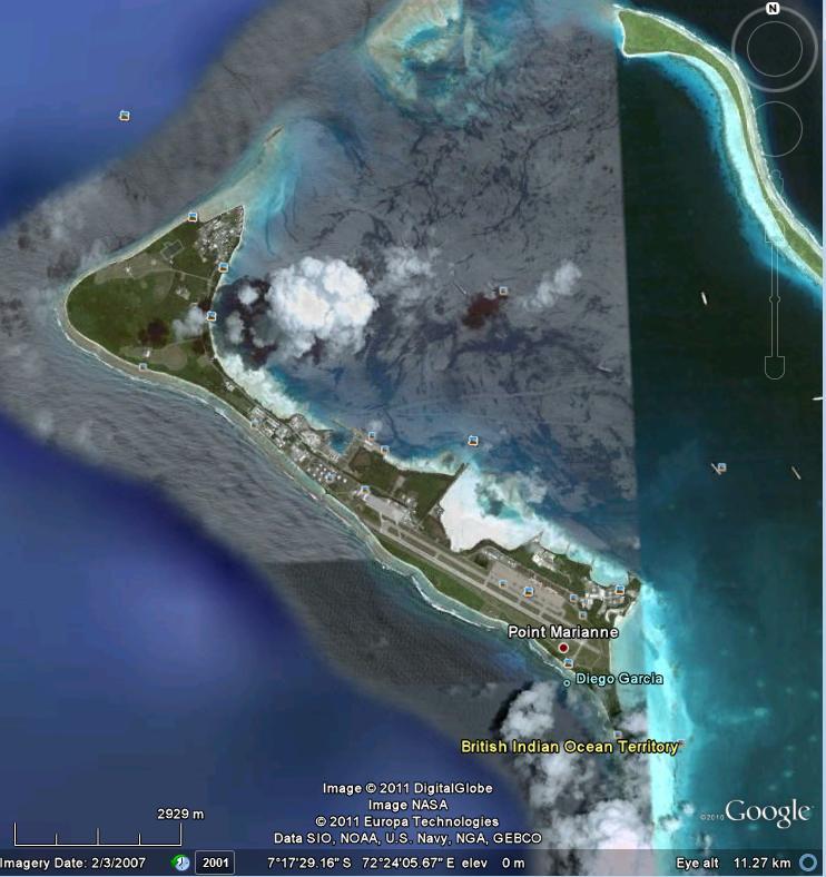 远大于美济礁,且礁堤有段面积很大